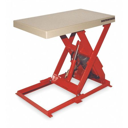 Elegant Scissor Lift Table, 1500 Lb., 115V, 1 Phase