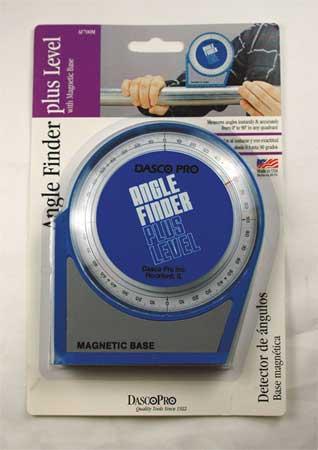 Angle Finder, Mag, 90 Deg, 4 1/2 V Base