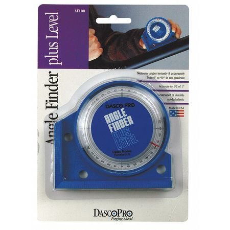 Angle Finder, 0-90 Deg, 4 In Base