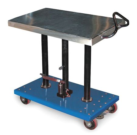 Hydraulic Lift Table,  20x36x54 In.