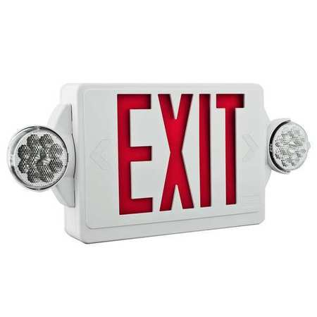 ACUITY LITHONIA LED Lamps,  Exit Sign with Emergency Lights