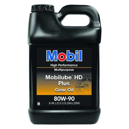 Mobilube HD Plus 80W90, Gear Oil, 2.5 gal.