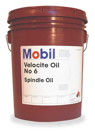 Mobil Velocite 6,  Spindle Oil,  5 gal.
