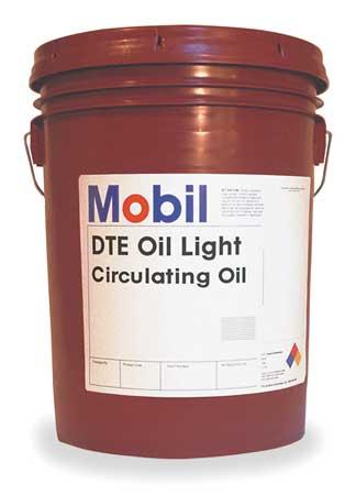 Mobil DTE Light,  ISO 32,  SAE Grade 10,  5 gal.