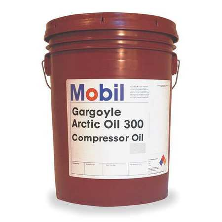 Gargoyle Arctic 300,  Compressor Oil,  5 gal.