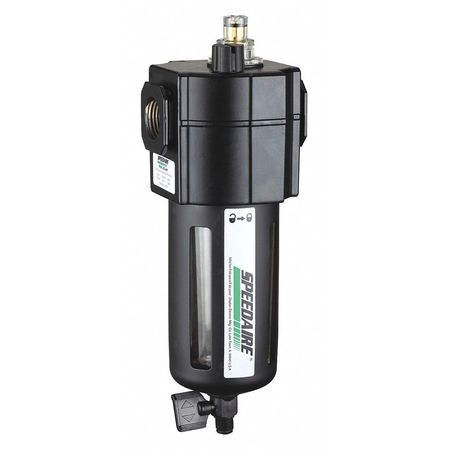 Air Line Lubricator, 1/2In, 80cfm, 150 psi