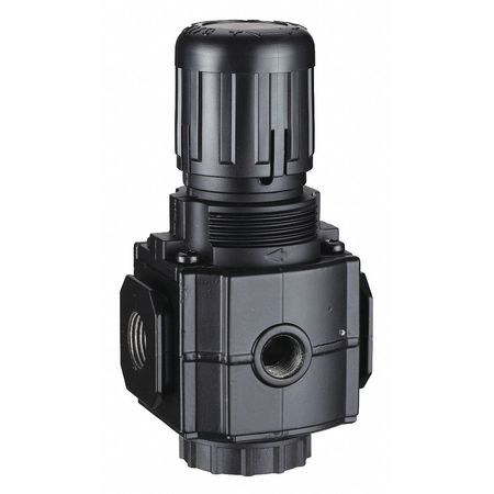 Air Regulator, 1/2 In NPT, 220 cfm, 300 psi
