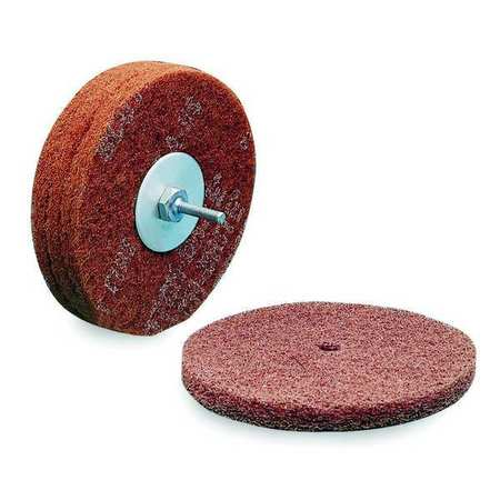 Fiber Disc, 8x1/2in, Med, AlO