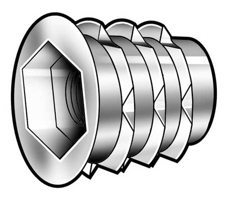 Threaded Insert, PK25
