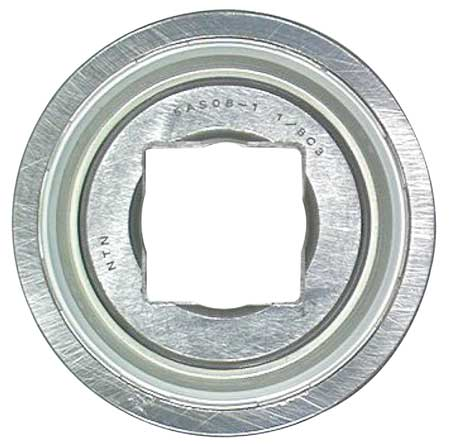 Disc Bearing, 1.25 In. Sq. Bore