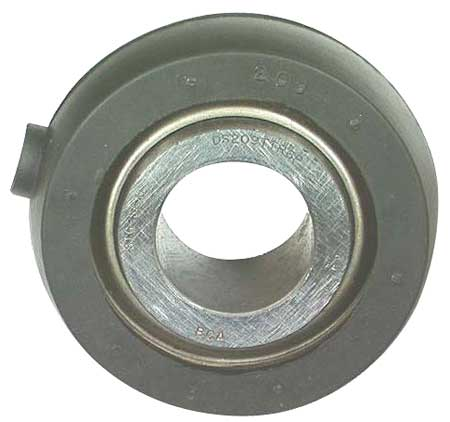 Disc Bearing, Rubber Mounted, 1.53 In Bore