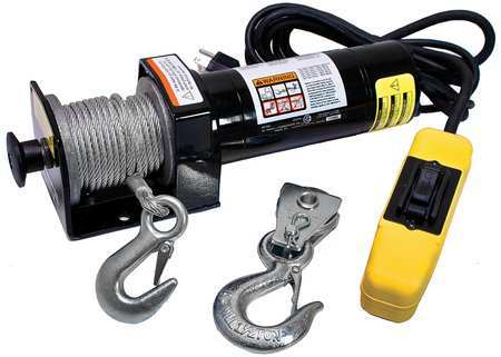 Electric Winch, 5/8HP, 115VAC