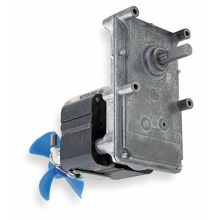AC Gearmotor, 21 rpm, Open, 230V