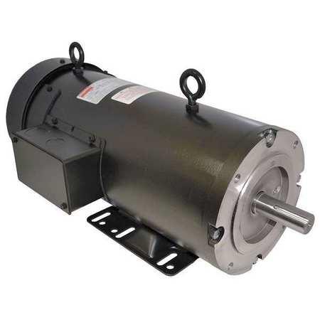DC Motor, PM, TEFC, 1/2 HP, 1750 rpm, 180VDC