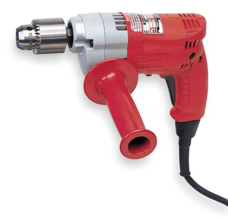 Electric Drill, 1/2 In, 0 to 950 rpm, 5.5A