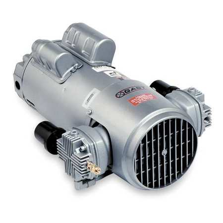 Piston Air Compressor, 1HP, 115/230V, 1Ph