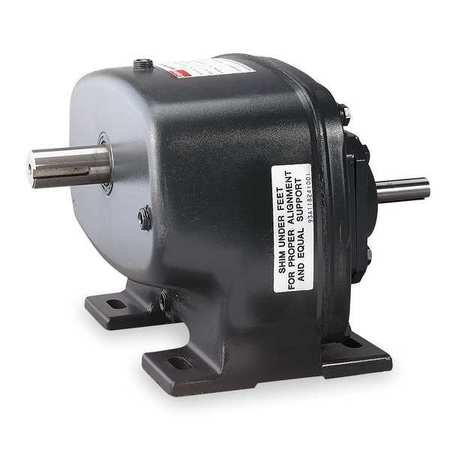 Speed Reducer, Indirect Drive, , 12.5:1