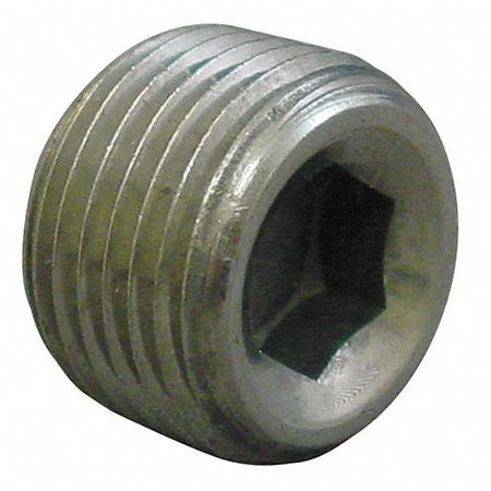 "3/8"" MNPT Magnetic Hex Recessed Head Plug"