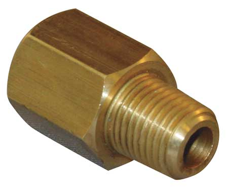 "3/8"" MBSP x FNPT Brass Conversion Adapter"
