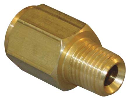 "1/2"" MNPT x FBSP Brass Conversion Adapter"