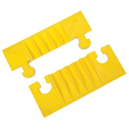 Cable Protector End Cap, 5 Channels, PK2