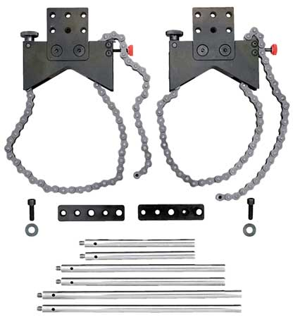 Alignment Clamp Set, w/Acc and Case