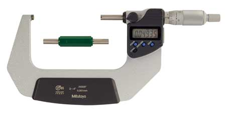 Electronic Micrometer, 3-4 In, SPC