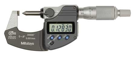 Crimp Height Micrometer, 0-0.8 In, Digital