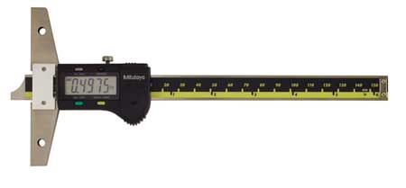 Electronic Digital Depth Gage, 0 to 6 In