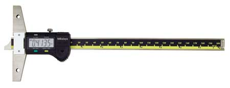 Electronic Digital Depth Gage, 0 to 8 In