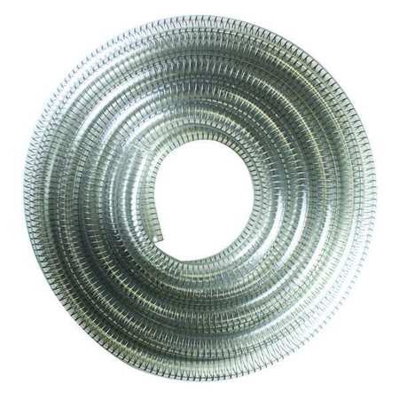 Suction and Transfer Hose, 25 ft., Clear
