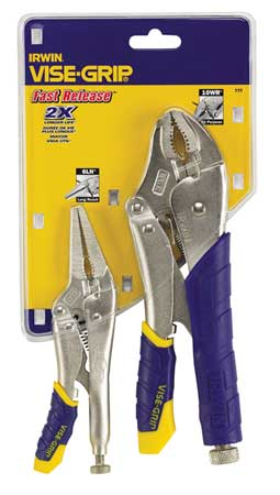 Fast Release Locking Pliers Set