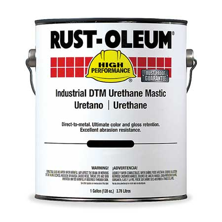 Finish, Silver Gray, Urethane Mastic