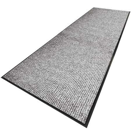 Carpeted Runner, Gray, 3ft. x 10ft.