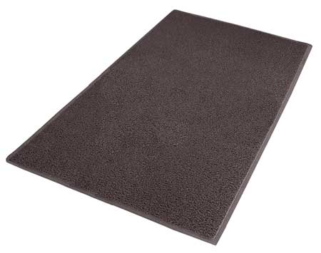 Carpeted Entrance Mat, Brown, 4ft. x 6ft.