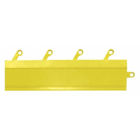 Mat Ramp, Yellow, 3 in. x 12 in., PK20