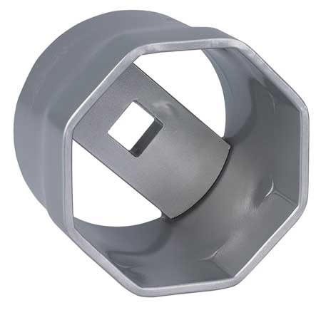 "Locknut Socket, 1"" Dr, 100mm Double Square"