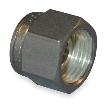 Tube Plug, 316 SS, LET-LOK, 12mm