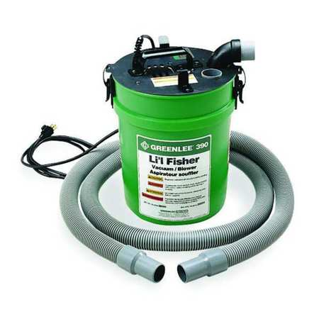 Vacuum/Blower Power Fishing System, 5 gal