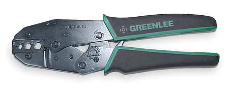 "Ratchet Crimper, RG-59,  RG-6, 9"" L"