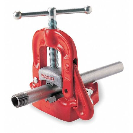 Bench Yoke Vise, 1/8-6 In Cap, 19 In. H