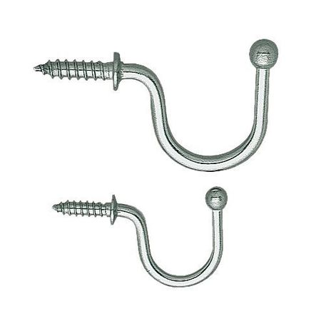 Load Rated Hook, 304 SS, 1-19/32 In, PK5