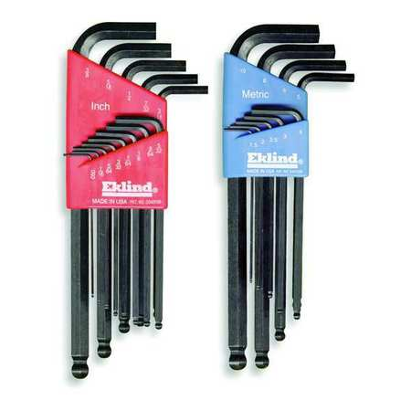 Ball End Hex Key Set, Pieces 22, S17,  M7