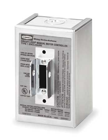 Switch Enclosure, NEMA Rating 1
