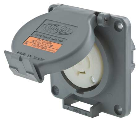 20A Watertight Locking Receptacle 3P 4W 125/250VAC