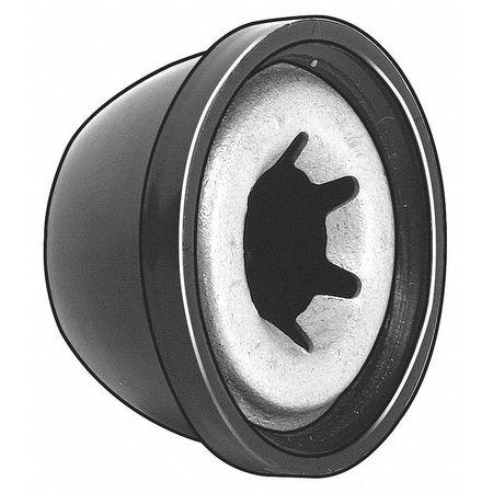 "5/16"" Steel & Plastic Cap Nuts,  25 pk."