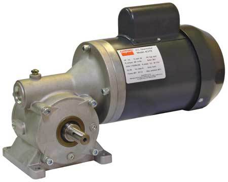 AC Gearmotor, Right Angle, 100 RPM