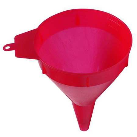 "Polyethylene, 1 pt., 6"", 5"", 1/2"", Red"