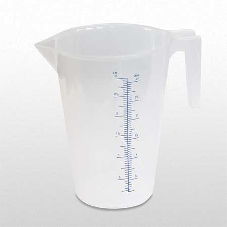 Measuring Container, Fixed Spout, 3 Quart