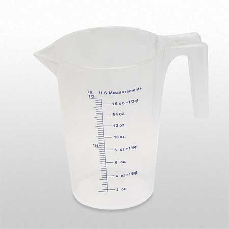 Measuring Container, Fixed Spout, 500 ML